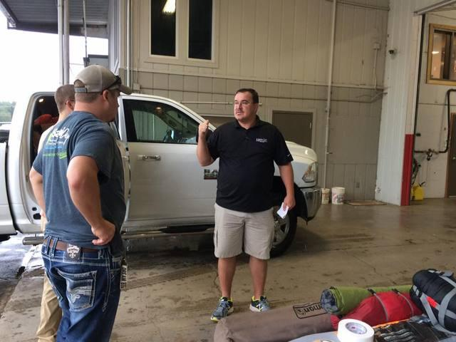 Some of Our Team Members Head West to Help Out after Hurricane Harvey
