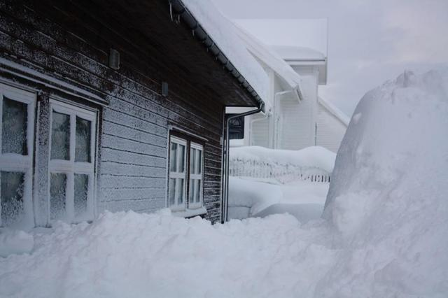 Melting snow can find its way inside and create flooding