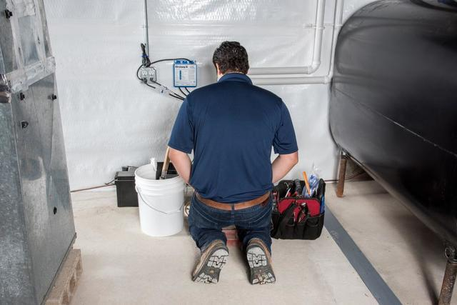 There Are 6 Steps to Service Your Basement Waterproofing System