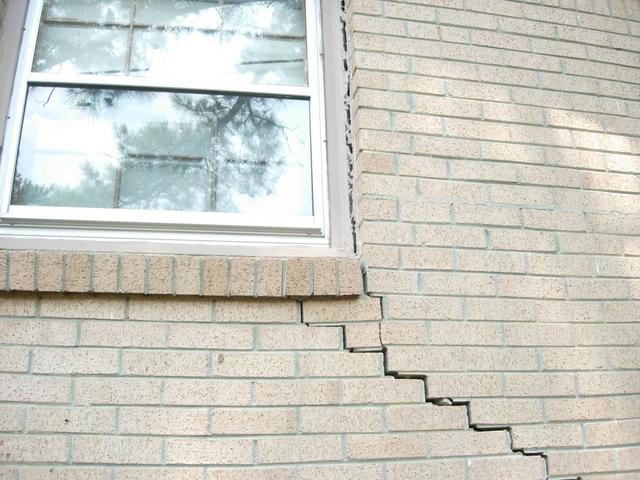 Stair-Step Cracking Pattern