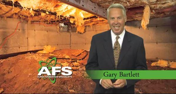 Gary Bartlett wants you to make your crawl space a CleanSpace