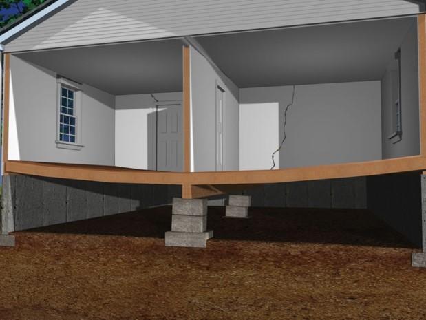 Interior concrete/crawlspace problems