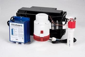 The UltraSump 4 battery backup unit