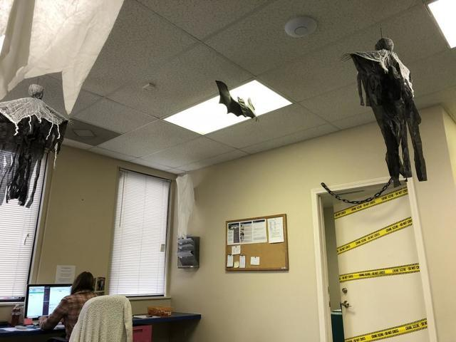 Spooky October Office Update