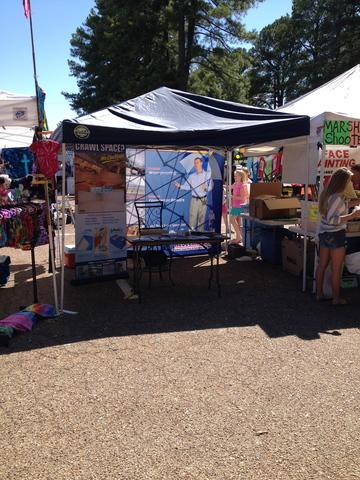 Redeemers Group enjoys sunny weather at Germantown Festival