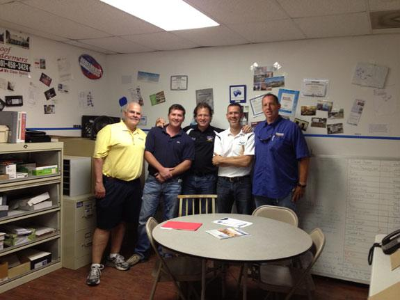 Larry Janesky and Greg Thrasher visit Redeemers Group in Memphis, TN