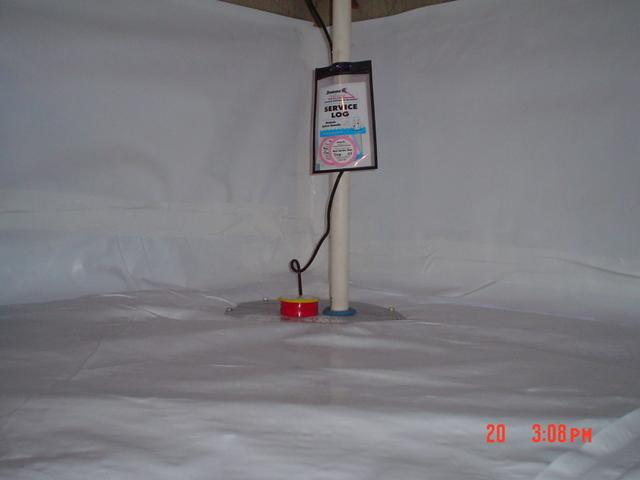 Mold Remediation and the Installation of a Sump Pump in Greenville, SC