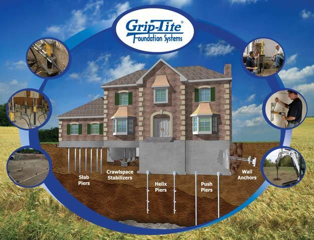 Certified Grip-Tite Dealer/Installer for Foundation Repairs