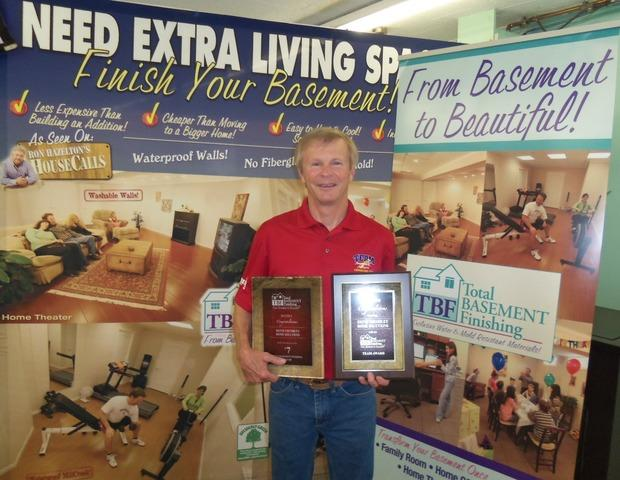 Awards Received at Basement Systems Convention