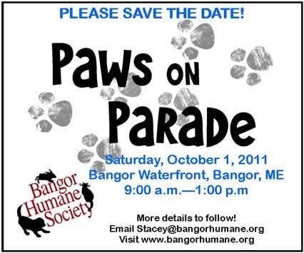 Keith Trembley Builder is proud to be a part of the Bangor Humane Society's 18th Annual Paws on Parade which...