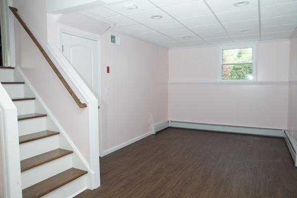 Finished basement in Norwalk CT