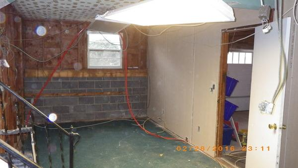 Unfinished basement in Norwalk CT