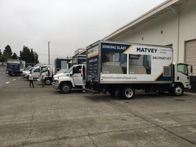 Here We Grow Again! Matvey Foundation Repair has added yet another new PolyLevel truck.