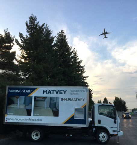 Matvey is growing! We have added our fourth new PolyLevel truck to the fleet....