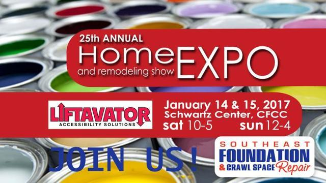 Southeast Foundation & Crawl Space Repair will be at Cape Fear Home Builders Association Home Show....