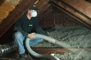Attic insulation from Dr. Energy Saver