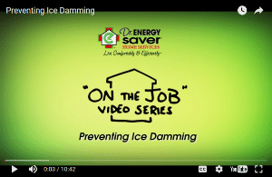 Preventing Ice Damming, a Dr. Energy Saver video