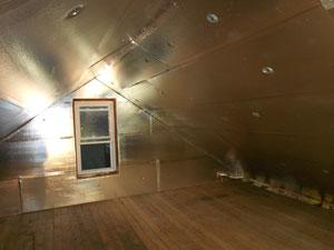 SuperAttic system from Dr. Energy Saver