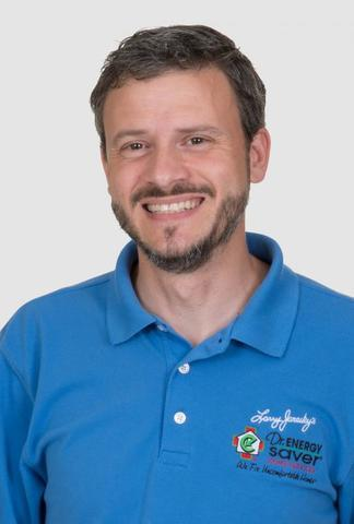 Home Energy Specialist Keith Saunders