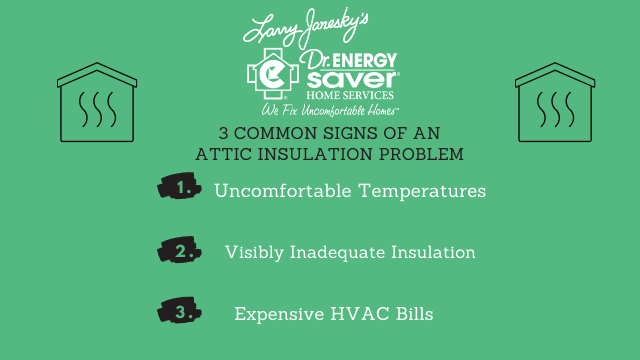 3 Common Signs of an Attic Insulation Problem