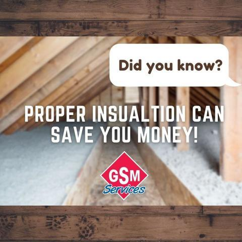 Did You Know? Proper Insulation Can Save You Money!