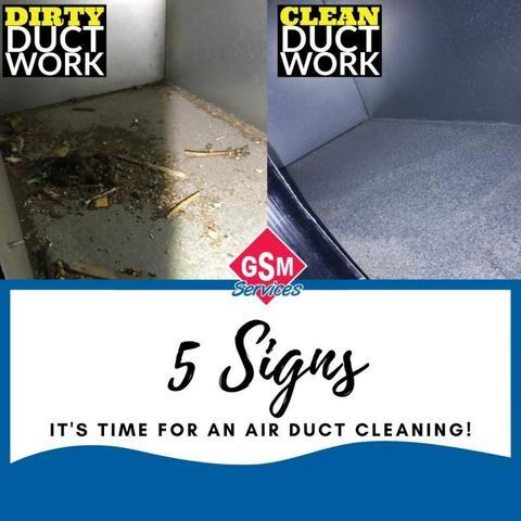 5 Signs It's Time for an Duct Cleaning