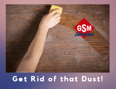 Why is there so much excess dust in my home?