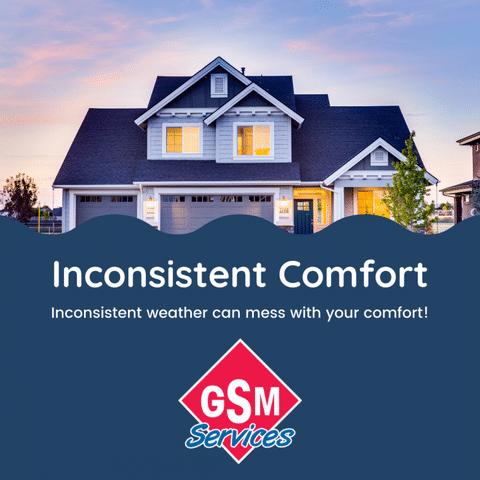 Inconsistent Comfort