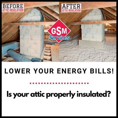 Lower Your Energy Bills - Check Your Attic Insulation!