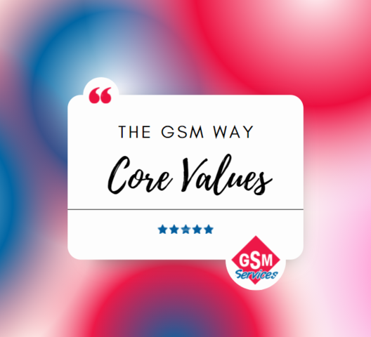 The GSM Way: Core Values