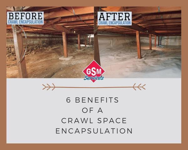 6 Benefits of a Crawl Space Encapsulation