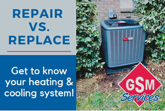 Repair vs. Replace - Know Your Heating & Cooling System