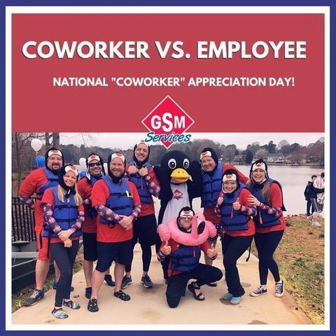 Coworker vs. Employee