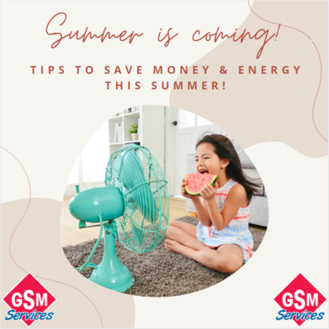 Tips to Save Money & Energy This Summer