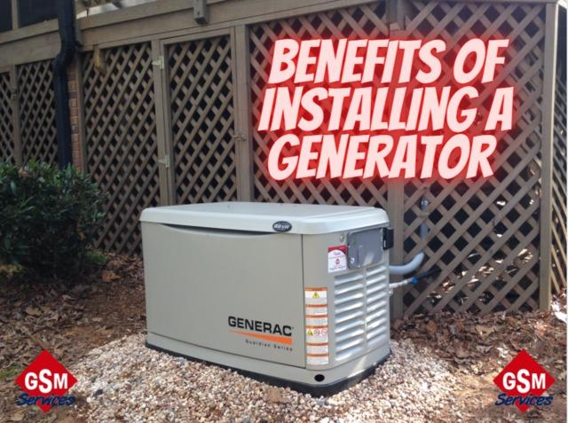 The Benefits of Installing a Generator