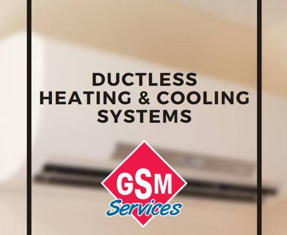 Ductless Heating & Cooling Systems