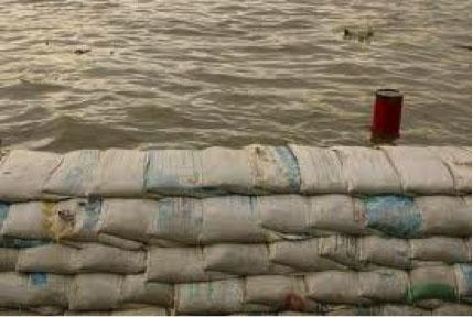 Sandbags Prove to Be a Temporary Fix Against Flooding