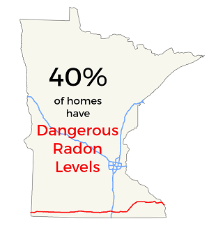 40% of Minnesota Homes Have Dangerous Radon; Only 1% Have Tested