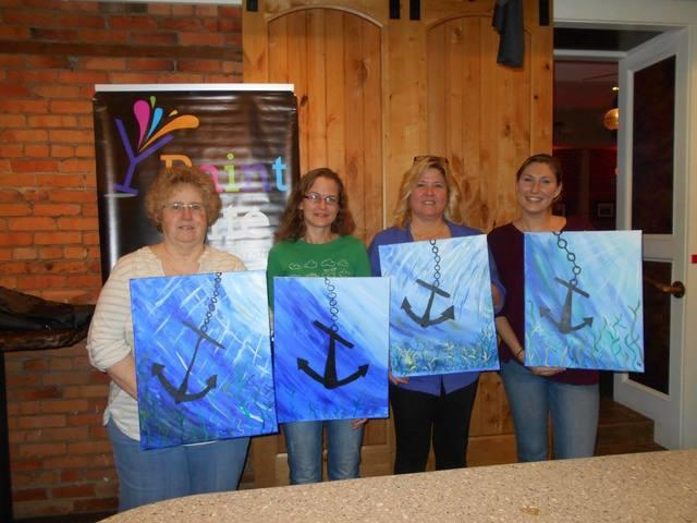 Dr. Energy Saver Attends Paint Nite