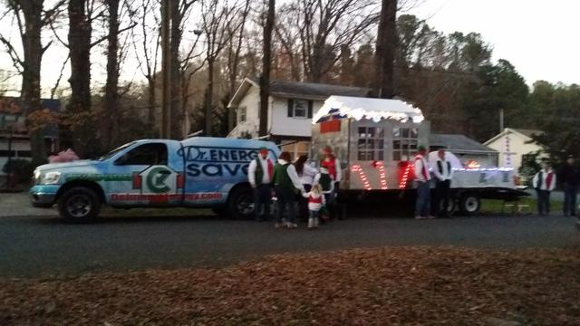 Dr Energy Saver Participates in Christmas Parades - Image 2