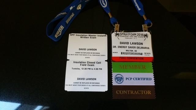 Dr Energy Saver attends Spray Foam Convention - Image 1