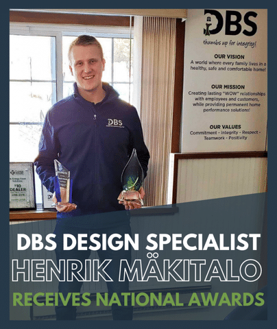 DBS Design Specialist Henrik Mäkitalo Receives National Awards