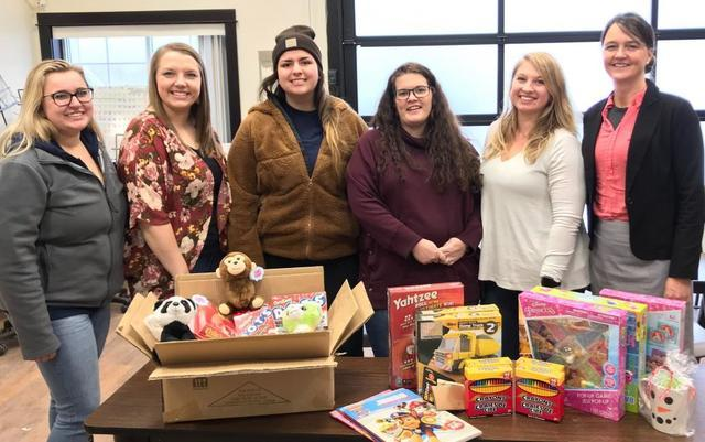 DBS teams up with Safe Haven to fill their Holiday Wish List