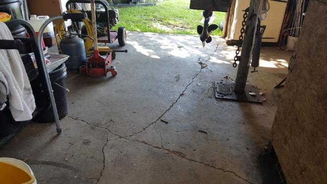 Floor Stabilization & Waterproofing in Cass Lake, MN.