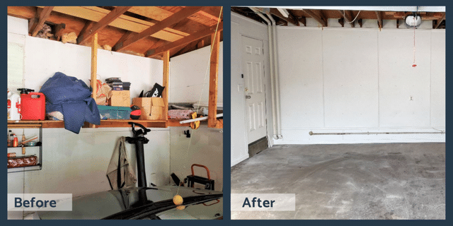 Before and After DBS Garage Finishing in Eagan, MN