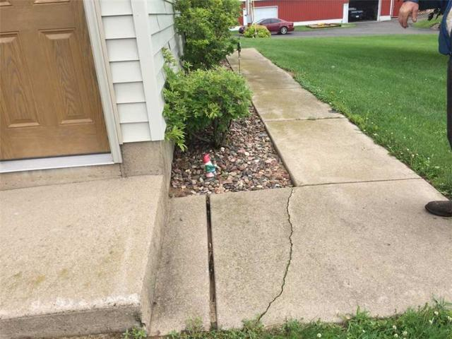 Concrete Crack Repairs in Osseo, WI.