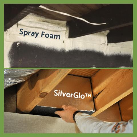 Spray Foam and Foam Board Insulation