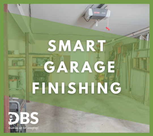 Smart Garage Finishing with DBS