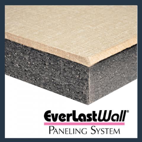 Crosscut of DBS EverLast Wall Panels