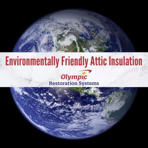 TruSoft Blown In Cellulose Attic Insulation is Environmentally Friendly